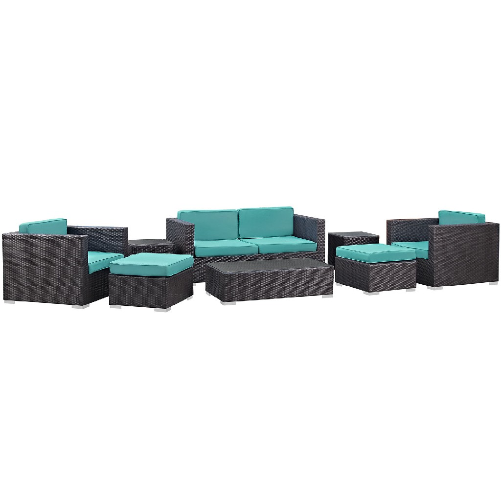 East End Outdoor Patio Sofa Set Exp Trq Set
