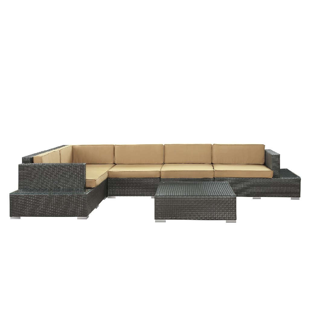 East End Harbor Outdoor Patio Sectional Set Exp Moc Set