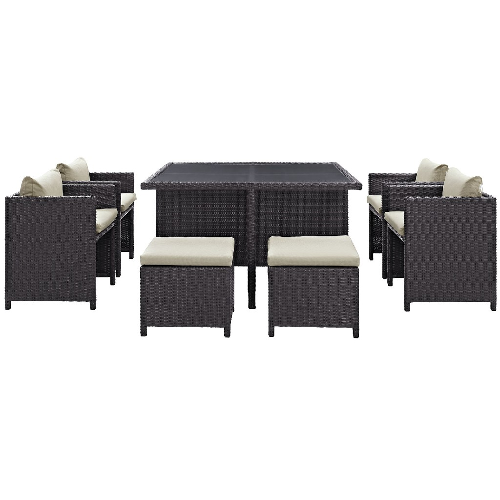 East End Inverse Outdoor Patio Dining Set Exp Bei