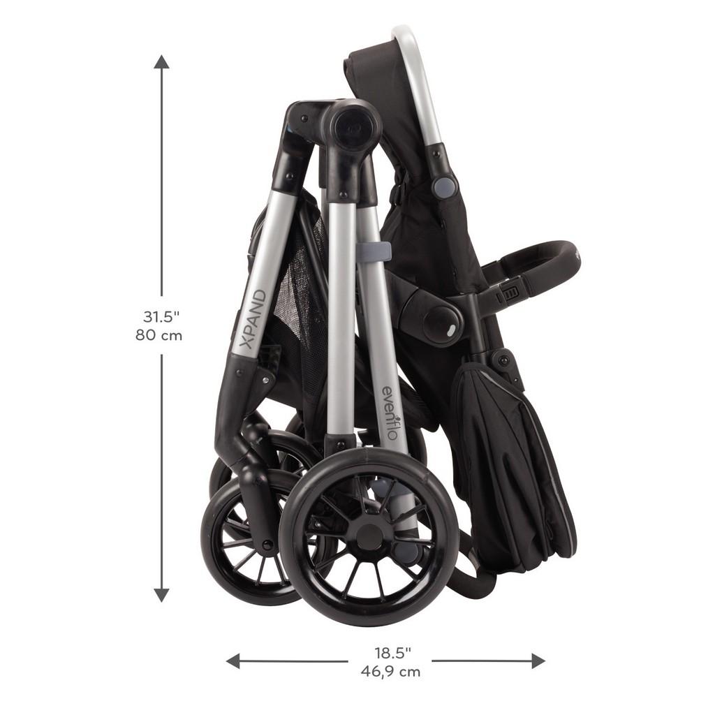 Evenflo Pivot Xpand Modular Stroller, Stallion - EV13812255