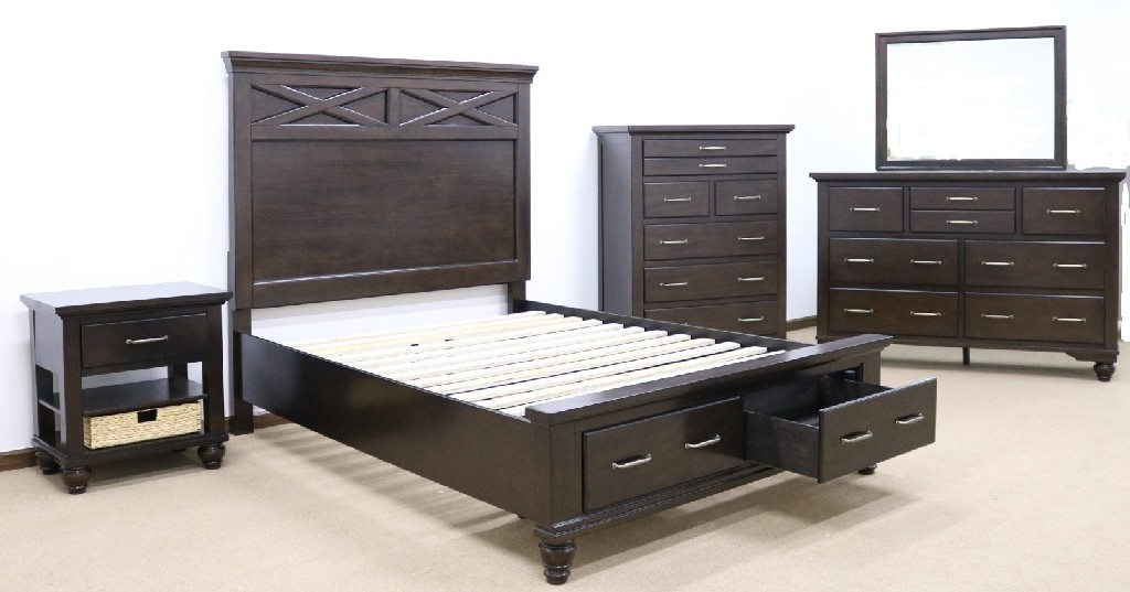 Myco Queen Storage Bed