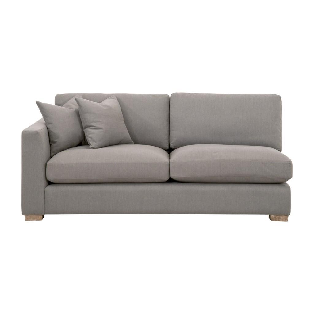 Hand Sofa Upholstery Hayden Modular Taper Seat Left Arm Sofa