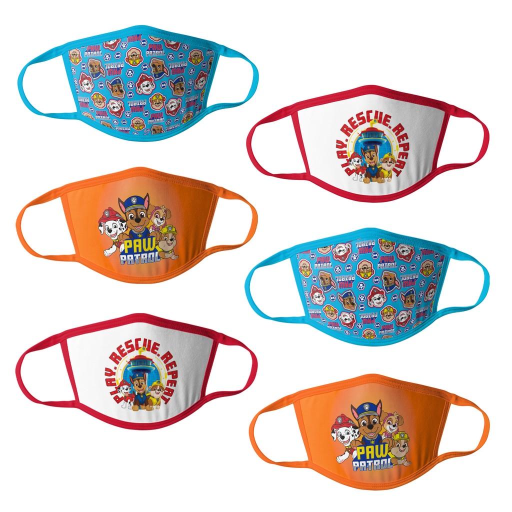Paw Patrol Boys Kids Face Masks - 6pk - HCBMP3763