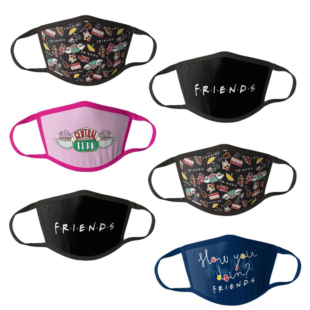 Friends Kids Face Masks - 6 pk - HCBMP8629