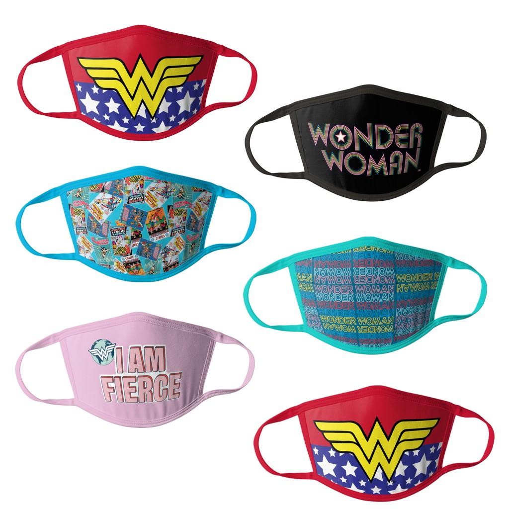 Wonder Woman Kids Face Masks - 6pk - HCGMP2827