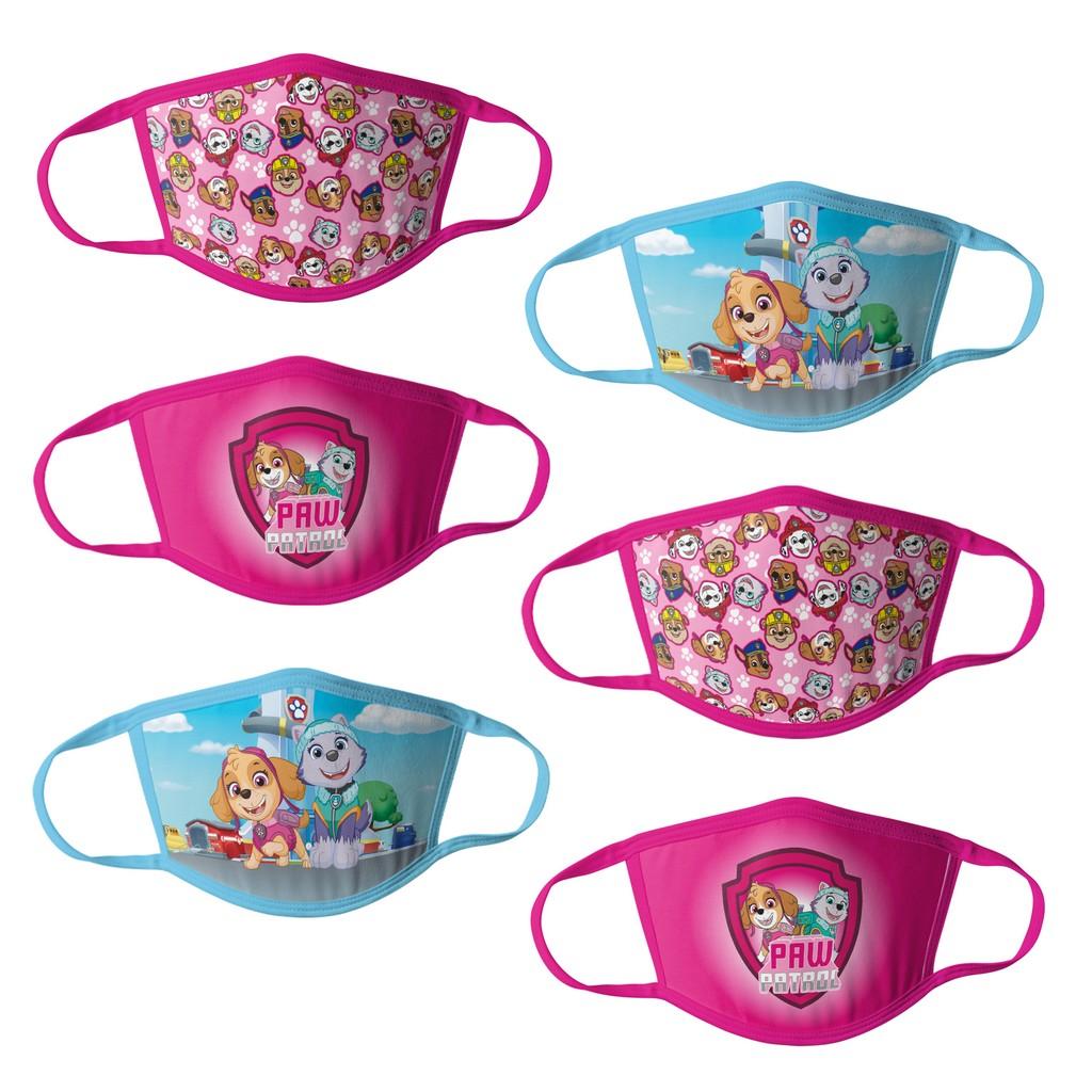 Paw Patrol Girls Kids Face Masks - 6pk - HCGMP3762