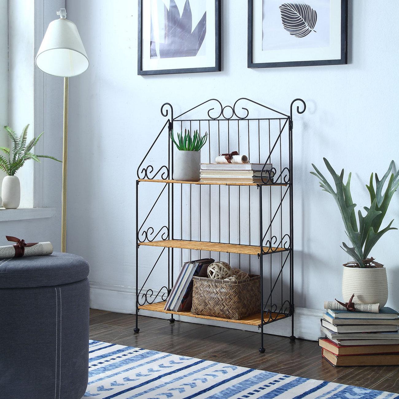 3 Tier Bookcase - 4D Concepts 143014