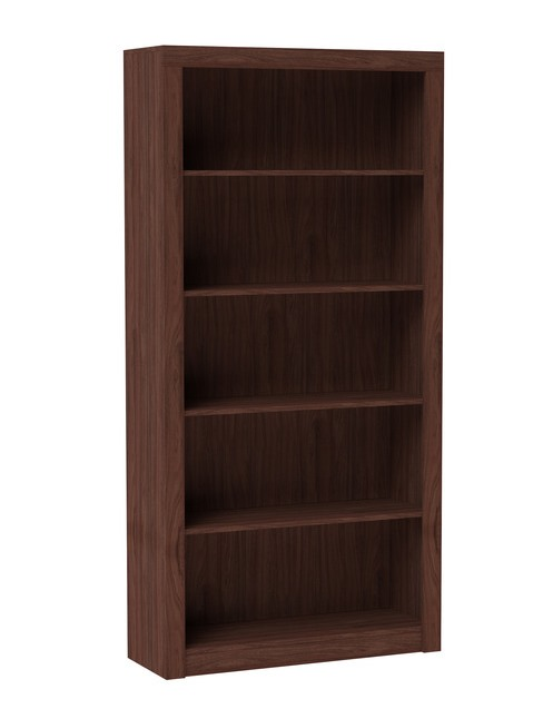 Accentuations by Manhattan Comfort 27AMC164 - Olinda Bookcase 1.0 in Nut Brown