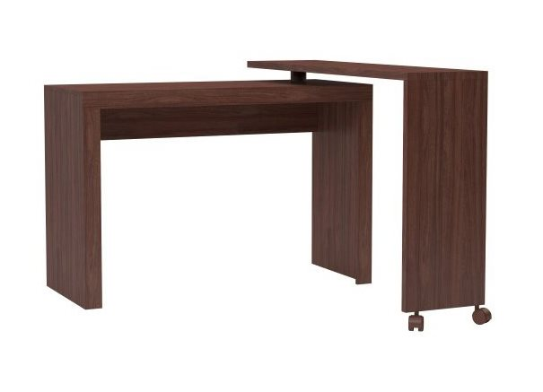 Accentuations by Manhattan Comfort 33AMC164 - Calabria Nested Desk in Nut Brown