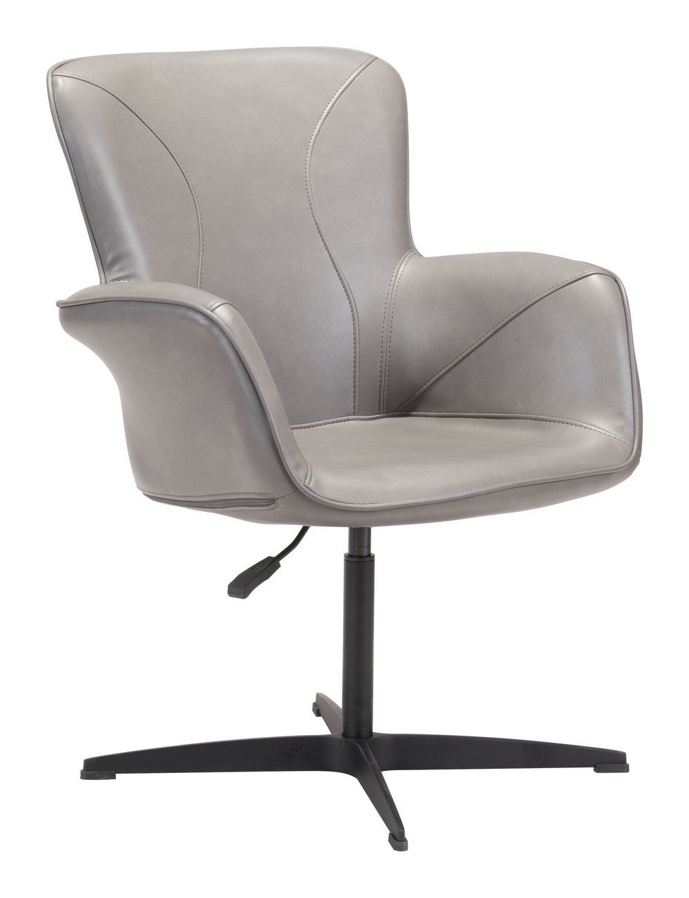 Zuo Alain Arm Chair Gray