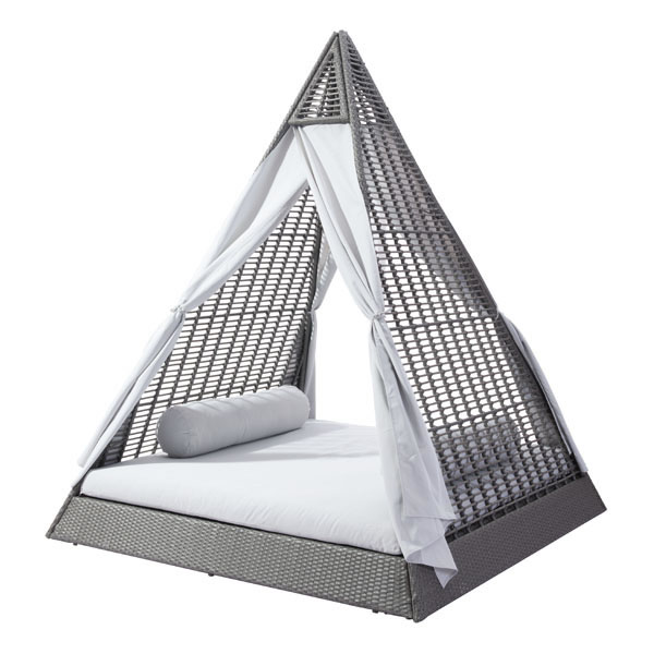 Zuo Albany Daybed Gray Light Gray