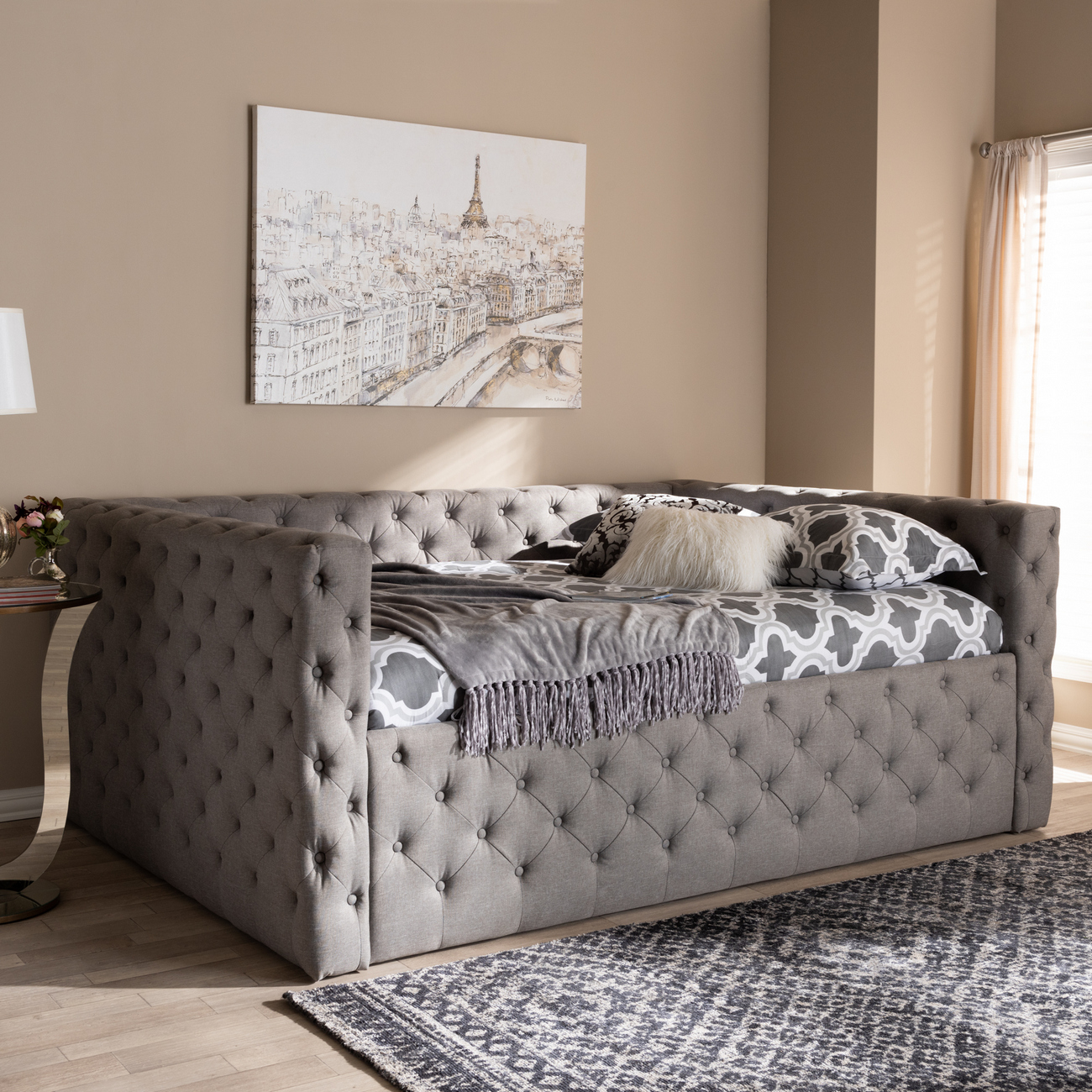 Wholesale Interiors Fabric Upholstered Daybed