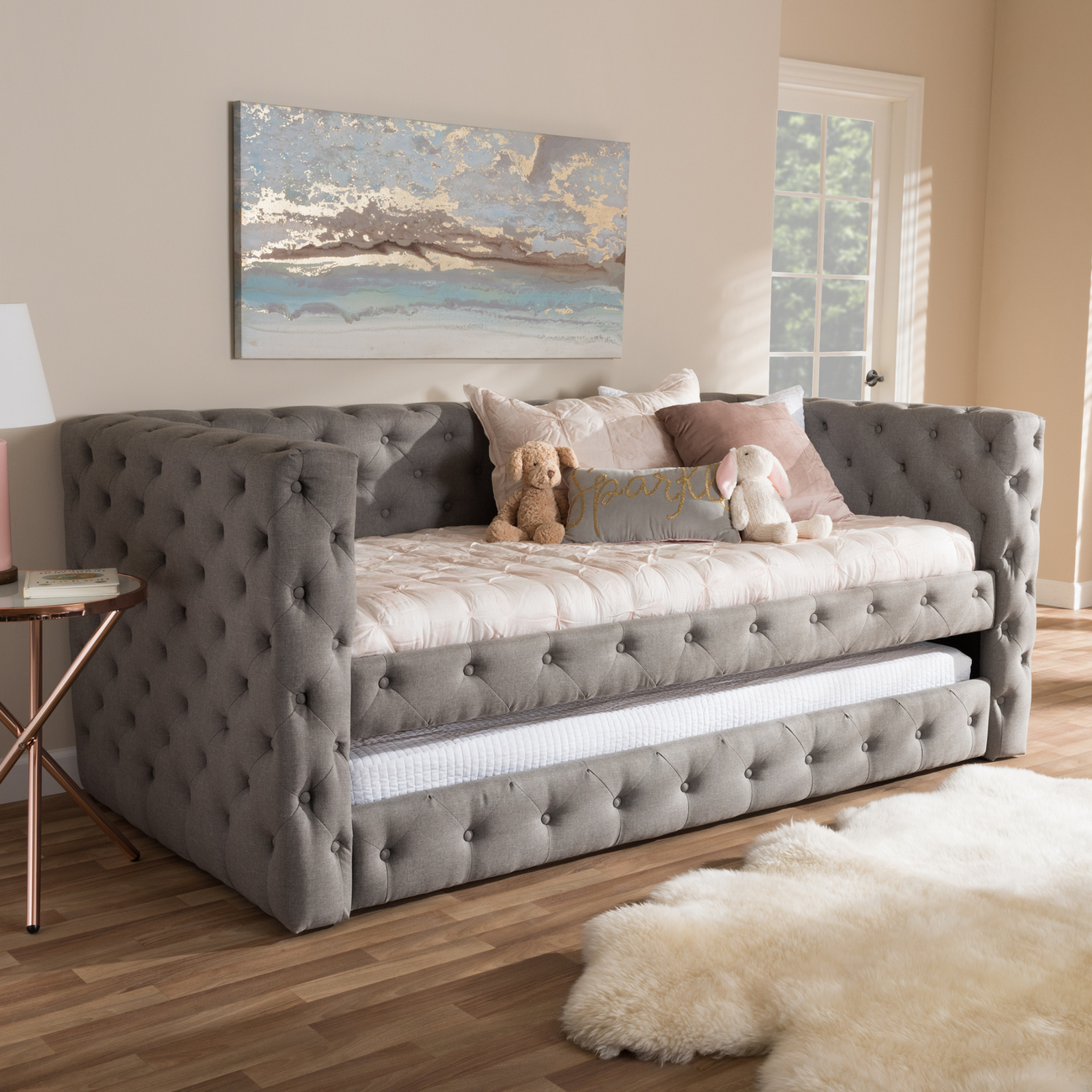Wholesale Interiors Upholstered Daybed Trundle