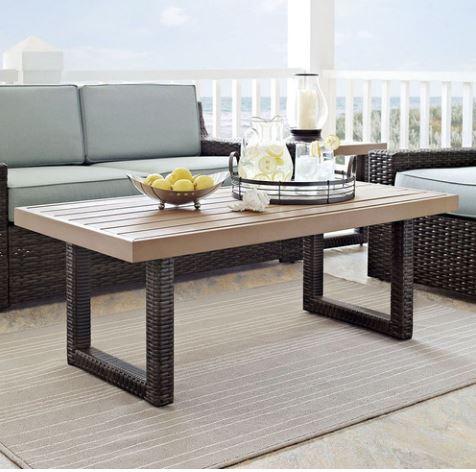 Beaufort Coffee Table - Crosley CO7225-BR