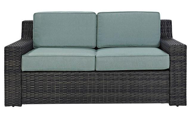 Beaufort Loveseat w/ Mist Cushion - Crosley KO70102BR
