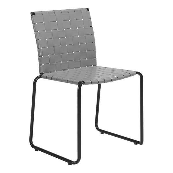 Zuo Dining Chair Light Gray