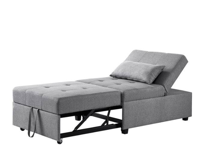 Boone Sofa Bed in Grey - Powell D1099S17G