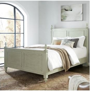 Crosley Brands Bourdeaux King Bedset Sage