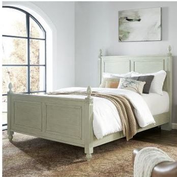 Crosley Brands Bourdeaux Queen Bedset Sage