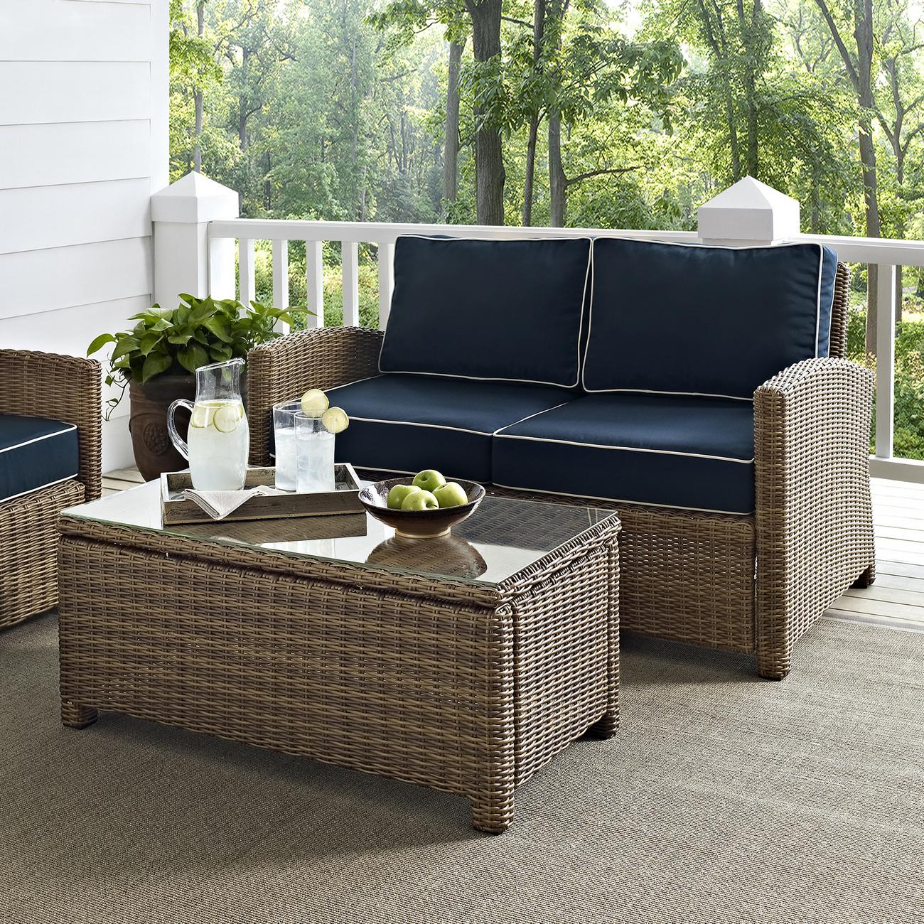 Crosley Brands Seating Set Outdoor Wicker