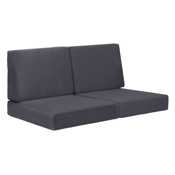 Zuo Cosmopolitan Sofa Cushions Dark Gray