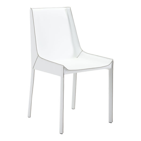 Zuo Fashion Dining Chair White