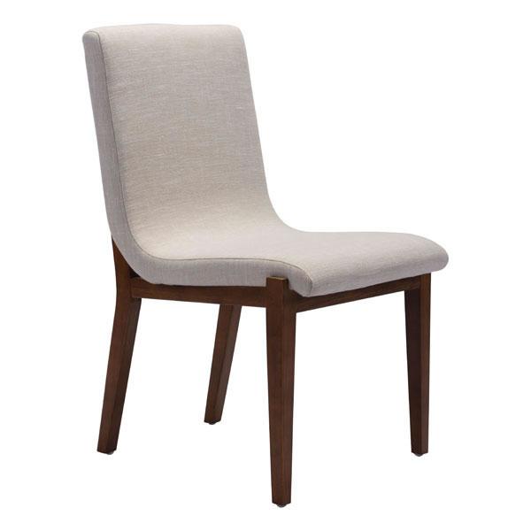 Zuo Hamilton Dining Chair Beige