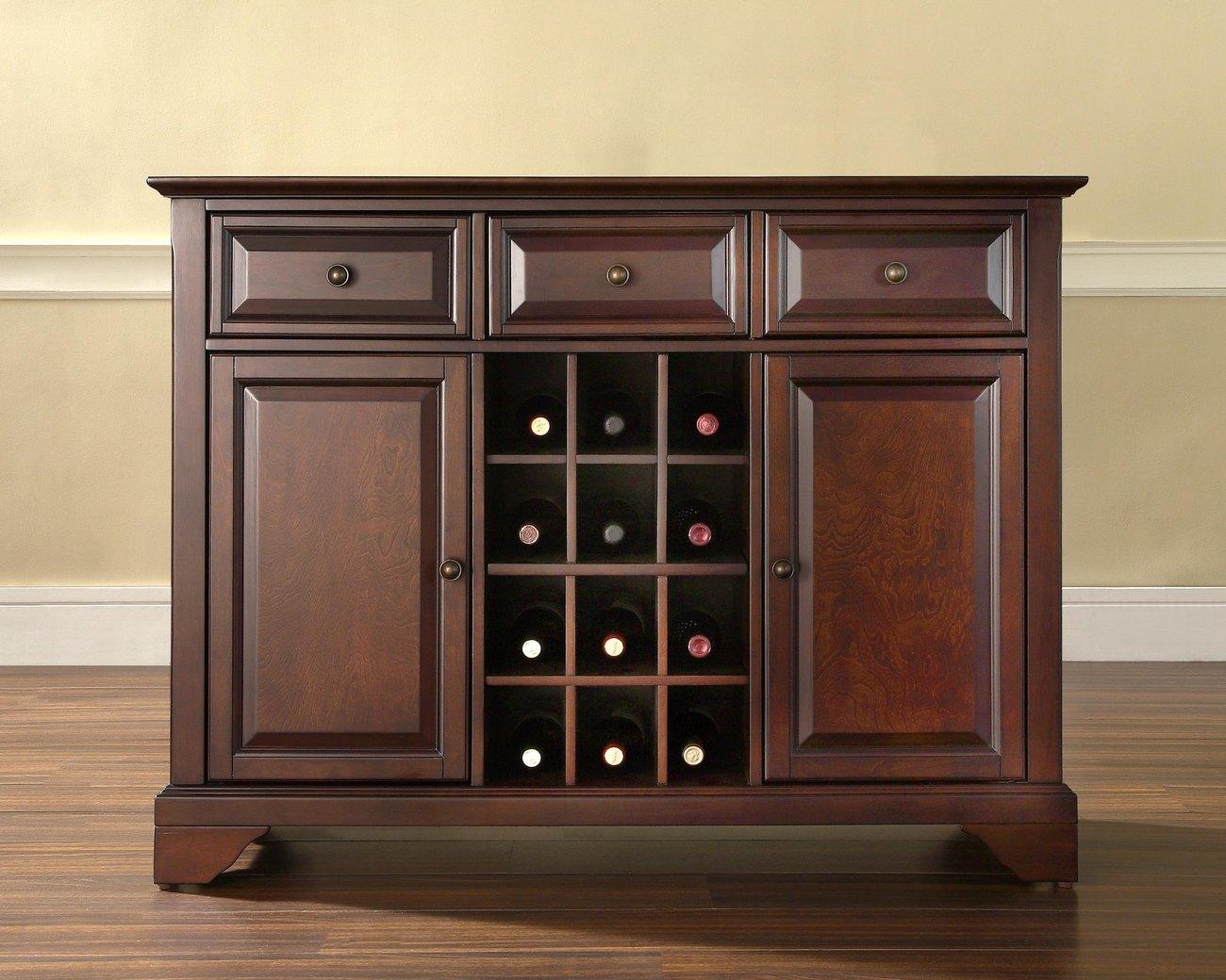 Cabinet | Storage | Vintage | Buffet | Finish | Wine
