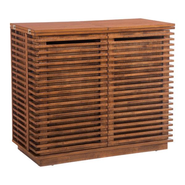 Zuo Bar Cabinet Walnut