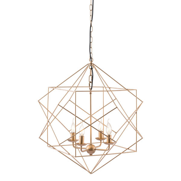 Zuo Modern Ceiling Lamp Gold