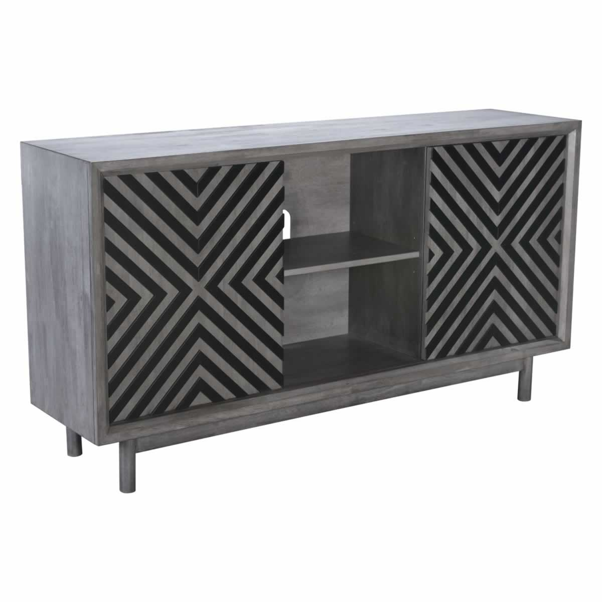 Zuo Raven Buffet Old Gray