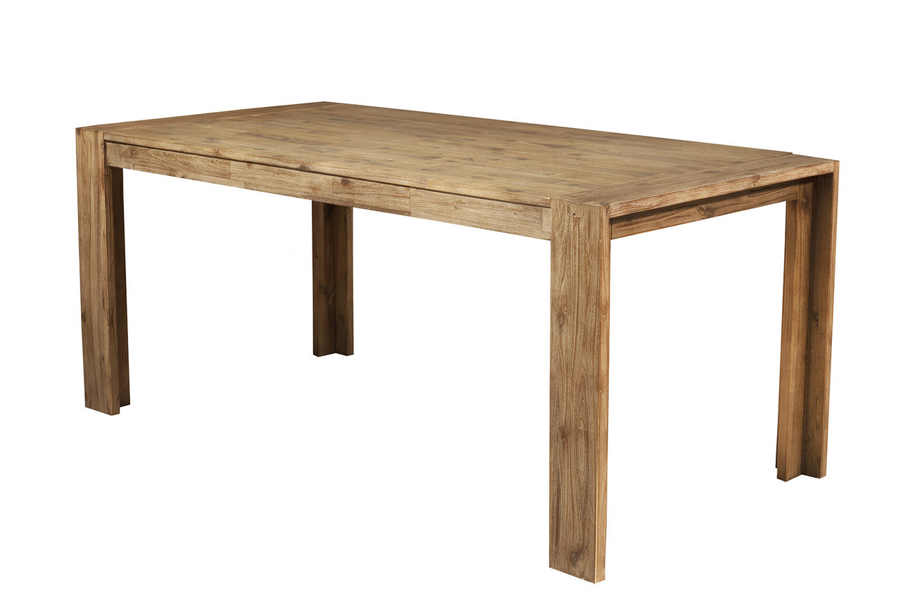 Alpine Seashore Fixed Dining Table