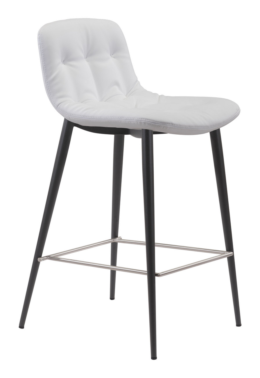 Zuo Tangiers Counter Chair White