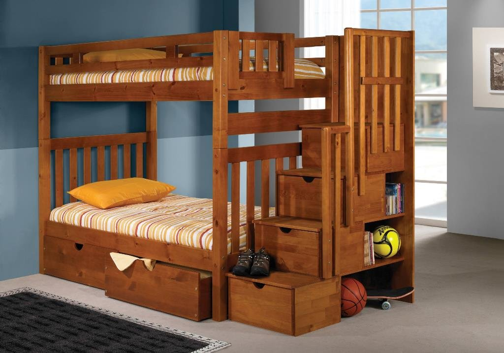 Twin Tall Bunkbed