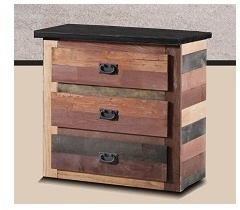 3 Drawer Chest in Multi-Color - Chelsea Home Furniture 31MC93
