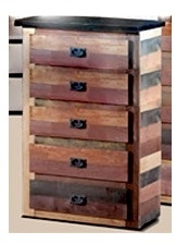 5 Drawer Chest in Multi-Color - Chelsea Home Furniture 31MC95