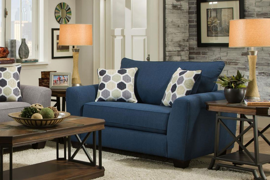 Chelsea Home Chair Half Heritage Blue