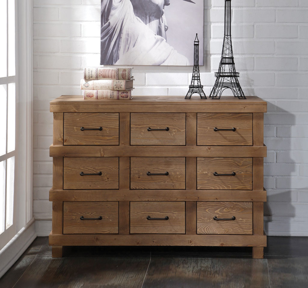 Adams Dresser in Antique Oak - Acme Furniture 30614
