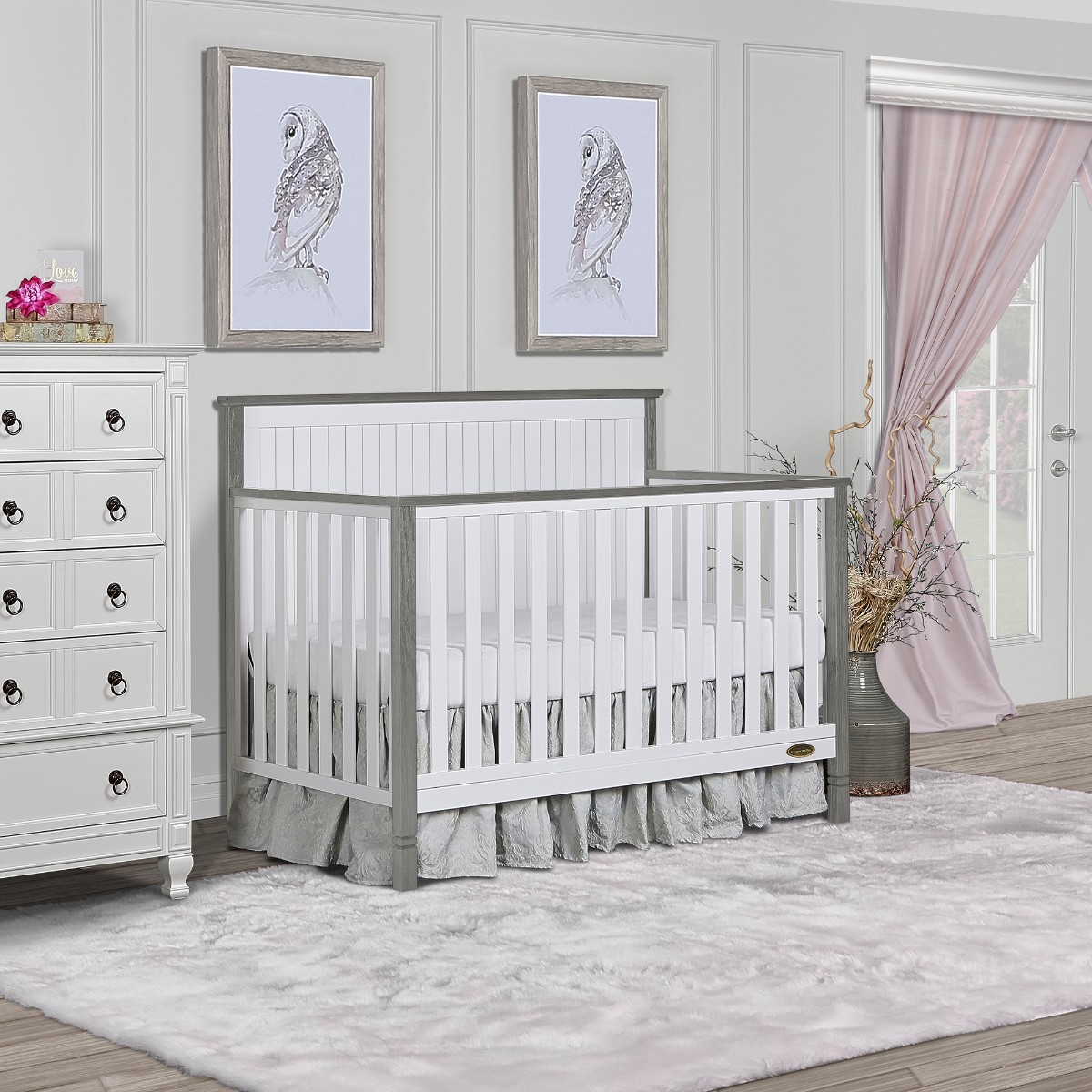 Alexa II 5 in 1 Convertible Crib - Dream On Me 728-B2SGP