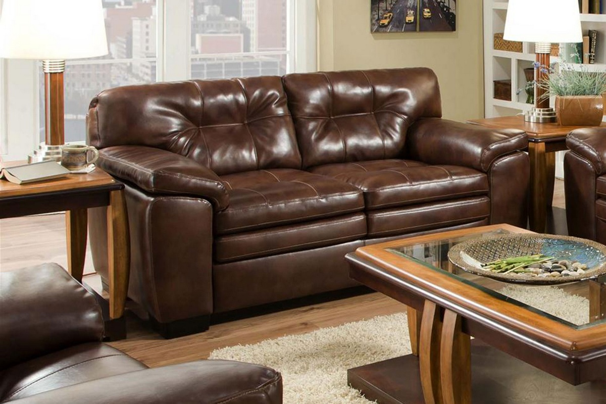 Chelsea Home Allie Loveaseat Filmore Java