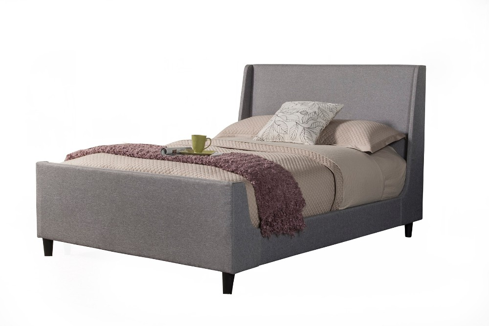 Alpine Amber California King Upholstered Bed