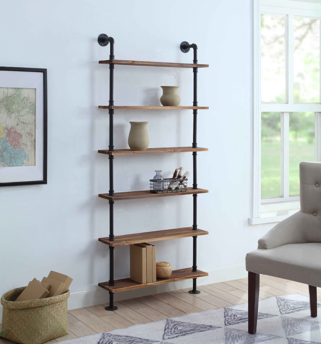 Anacortes Six Shelf Piping - 4D Concepts
