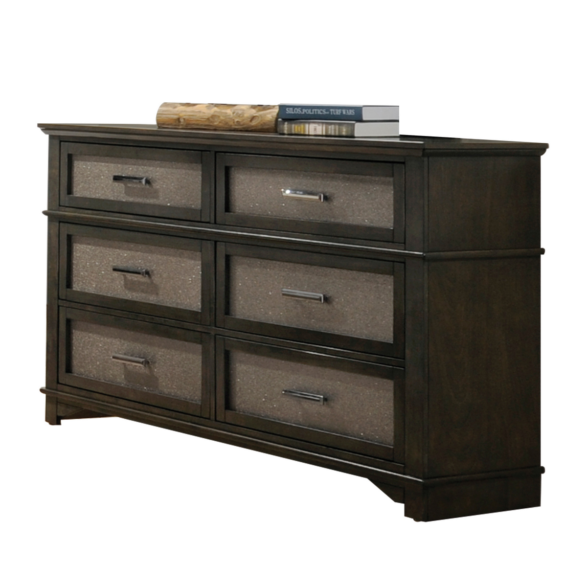 Anatole Dresser in Dark Walnut - Acme Furniture 26285