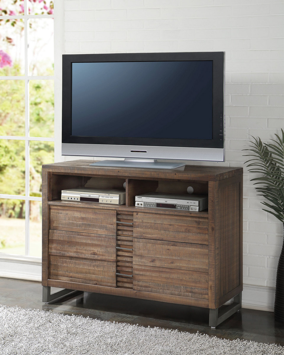 Acme Tv Console Reclaimed Oak