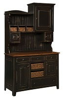 Annies 2-PC Hutch - Chelsea Home Furniture 465-002-2TBMC