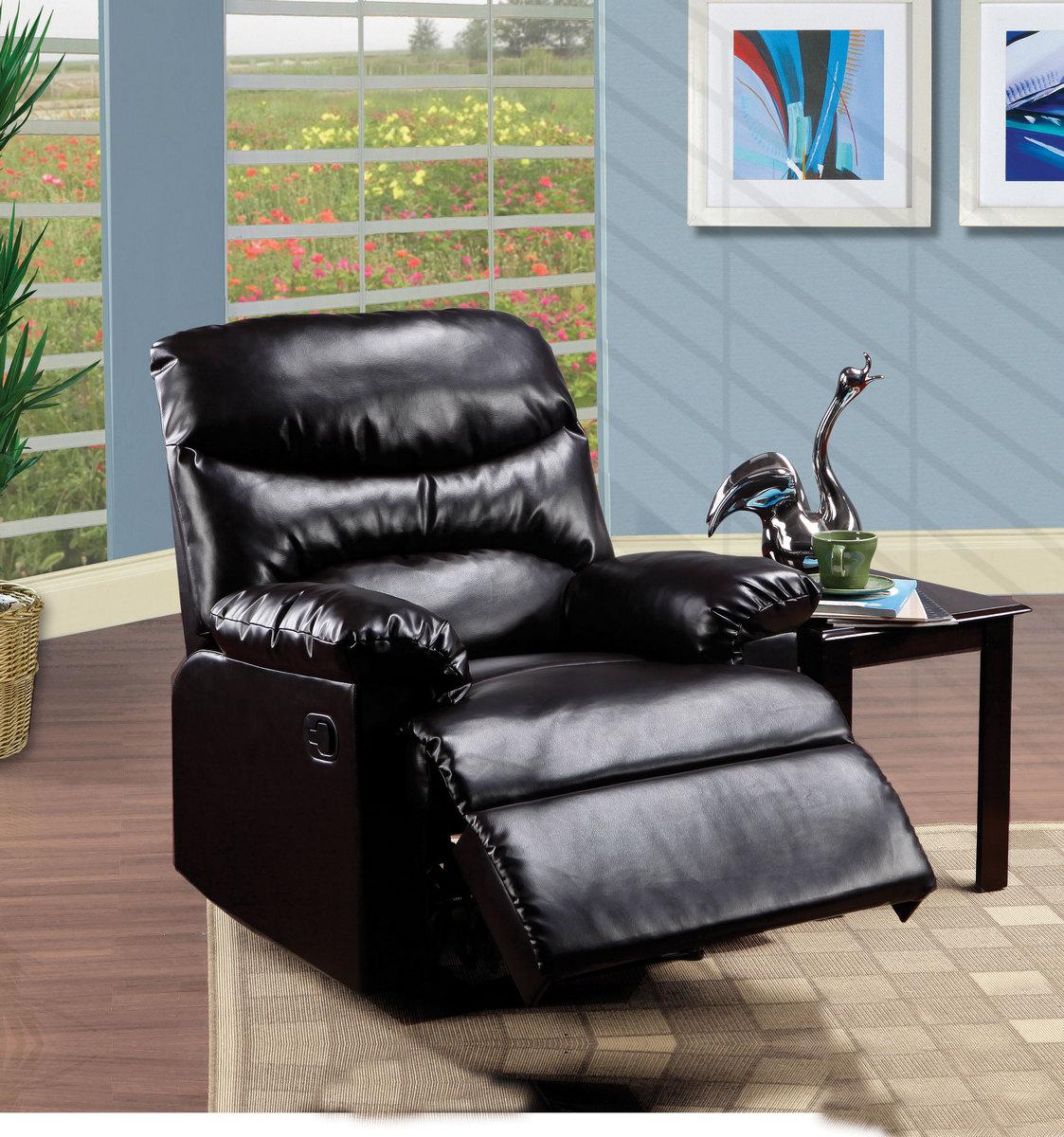 Arcadia Recliner Motion in Espresso PU Acme Furniture 59010
