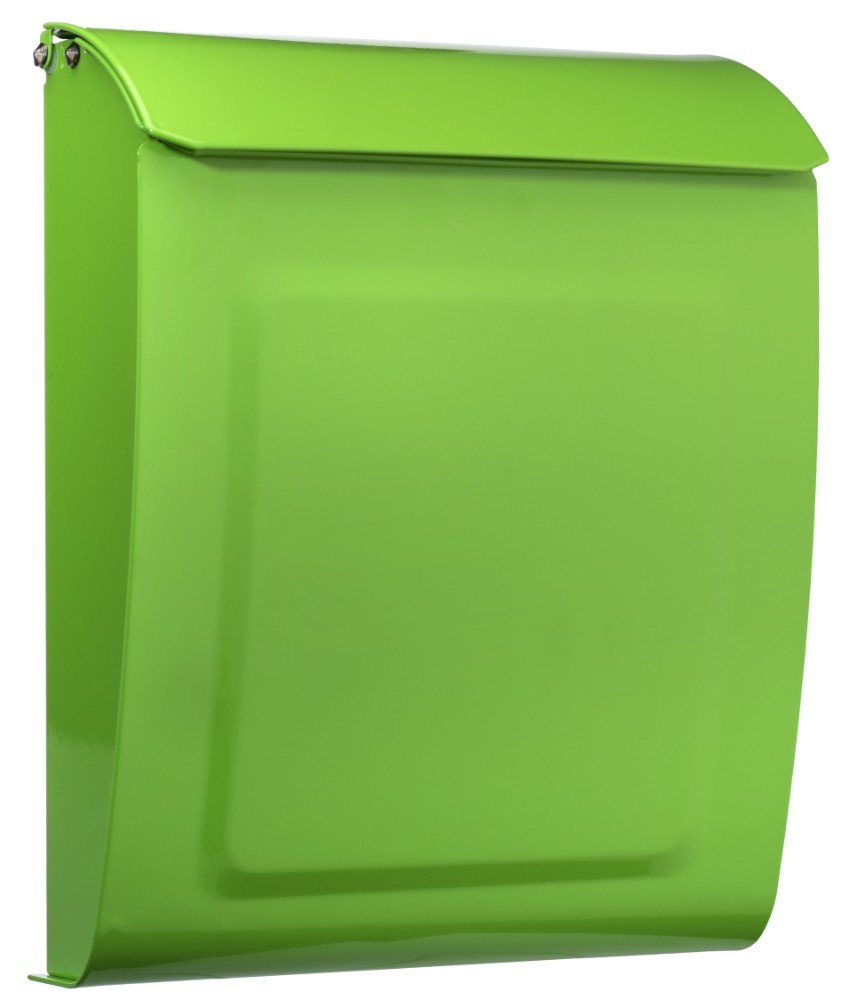 Aspen Locking Wall Mount Mailbox Green - Architectural Mailboxes 2594LG