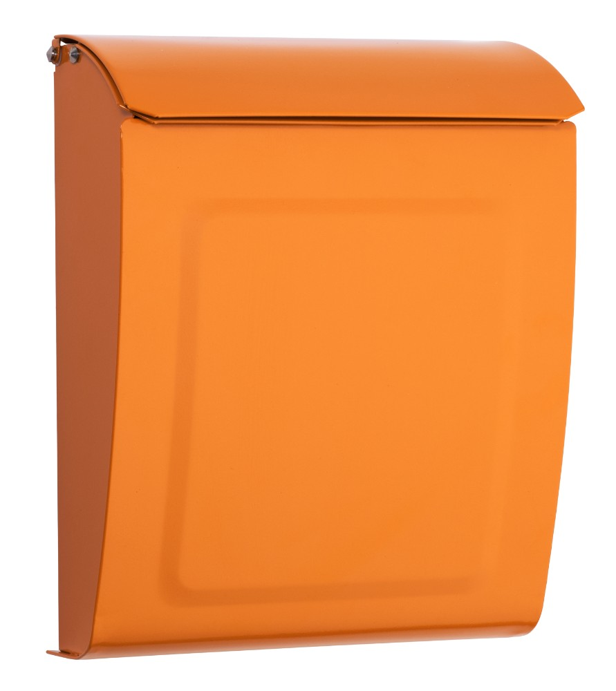 Aspen Locking Wall Mount Mailbox Orange - Architectural Mailboxes 2594O