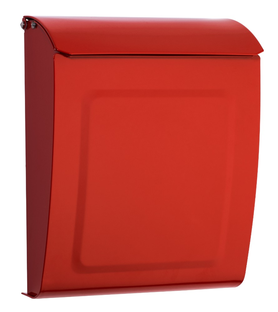 Aspen Locking Wall Mount Mailbox Red - Architectural Mailboxes 2594R