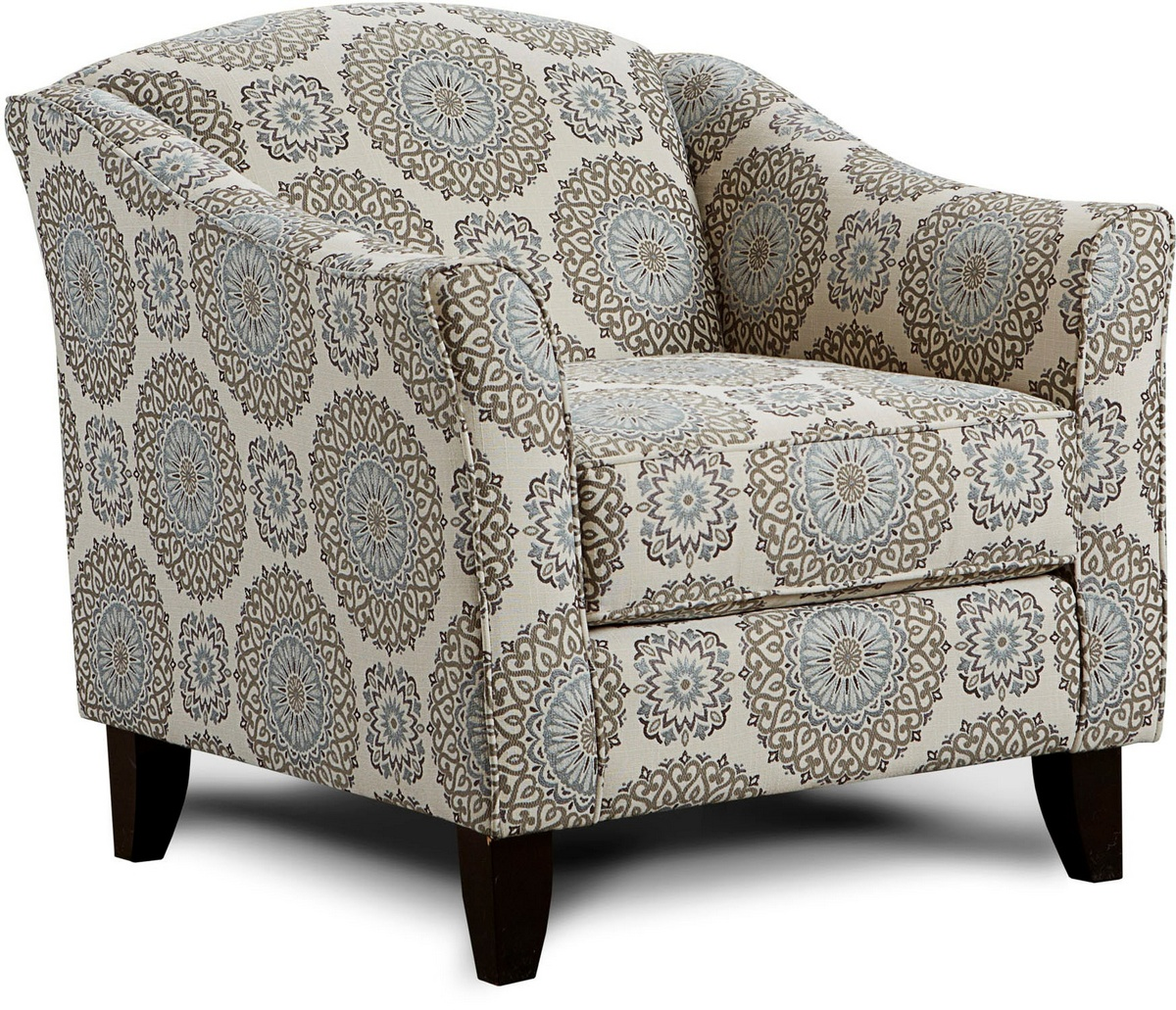 Chelsea Home Daisy Accent Chair Revolution Twiight Revolution Twilight